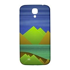 Landscape  Illustration Samsung Galaxy S4 I9500/I9505  Hardshell Back Case