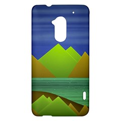Landscape  Illustration HTC One Max (T6) Hardshell Case