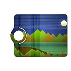 Landscape  Illustration Kindle Fire HD 7  (2nd Gen) Flip 360 Case