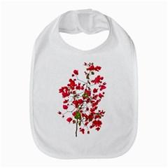 Red Petals Bib