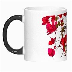 Red Petals Morph Mug