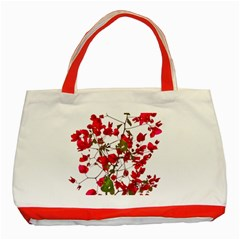 Red Petals Classic Tote Bag (Red)
