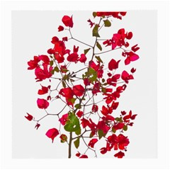 Red Petals Glasses Cloth (Medium, Two Sided)