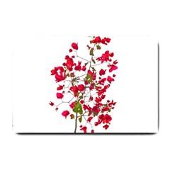 Red Petals Small Door Mat
