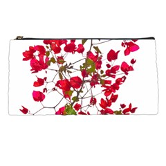 Red Petals Pencil Case