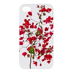 Red Petals Apple Iphone 4/4s Hardshell Case