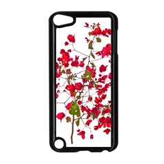 Red Petals Apple Ipod Touch 5 Case (black)