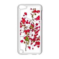Red Petals Apple iPod Touch 5 Case (White)
