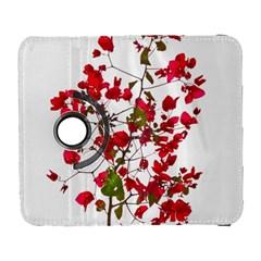 Red Petals Samsung Galaxy S  III Flip 360 Case