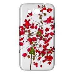 Red Petals Samsung Galaxy Mega 5 8 I9152 Hardshell Case