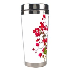 Red Petals Stainless Steel Travel Tumbler