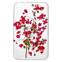 Red Petals Samsung Galaxy Tab 3 (8 ) T3100 Hardshell Case