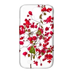 Red Petals Samsung Galaxy S4 Classic Hardshell Case (PC+Silicone)