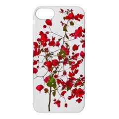 Red Petals Apple Iphone 5s Hardshell Case