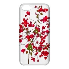 Red Petals Apple iPhone 5C Hardshell Case