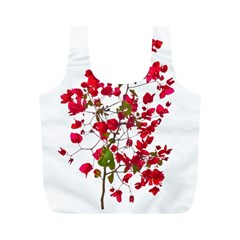Red Petals Reusable Bag (M)
