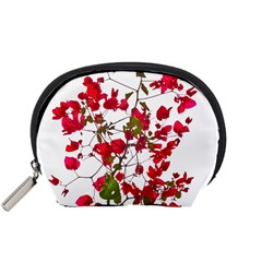 Red Petals Accessories Pouch (small)