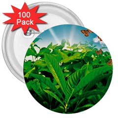Nature Day 3  Button (100 Pack)