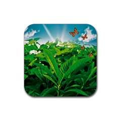 Nature Day Drink Coaster (square)