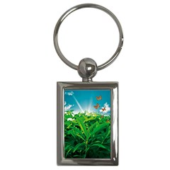 Nature Day Key Chain (Rectangle)