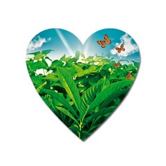 Nature Day Magnet (heart)