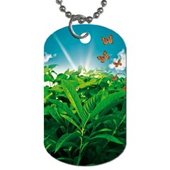 Nature Day Dog Tag (Two-sided)