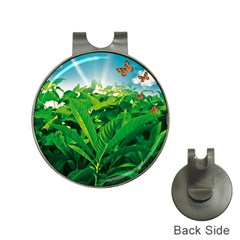 Nature Day Hat Clip with Golf Ball Marker