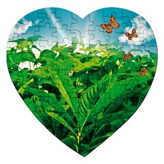 Nature Day Jigsaw Puzzle (heart)