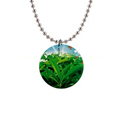 Nature Day Button Necklace