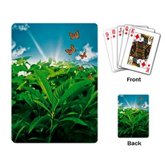 Nature Day Playing Cards Single Design