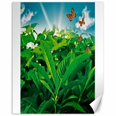 Nature Day Canvas 16  x 20  (Unframed)