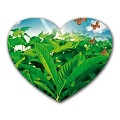Nature Day Mouse Pad (heart)