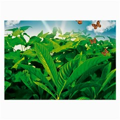 Nature Day Glasses Cloth (Large, Two Sided)