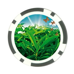 Nature Day Poker Chip