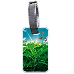 Nature Day Luggage Tag (One Side)