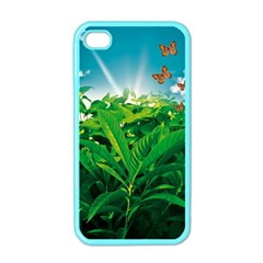 Nature Day Apple Iphone 4 Case (color)