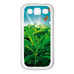 Nature Day Samsung Galaxy S3 Back Case (white)