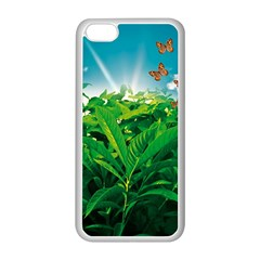 Nature Day Apple iPhone 5C Seamless Case (White)