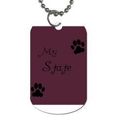 Poster From Postermywall Dog Tag (two Sided)