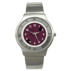 Poster From Postermywall Stainless Steel Watch (slim)