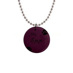 Poster From Postermywall Button Necklace