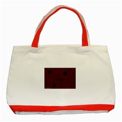 Poster From Postermywall Classic Tote Bag (Red)