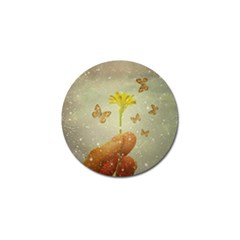 Butterflies Charmer Golf Ball Marker 4 Pack