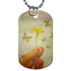 Butterflies Charmer Dog Tag (two Sided)