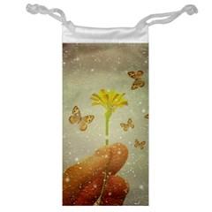 Butterflies Charmer Jewelry Bag