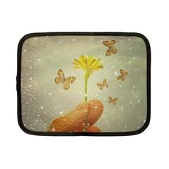 Butterflies Charmer Netbook Sleeve (small)