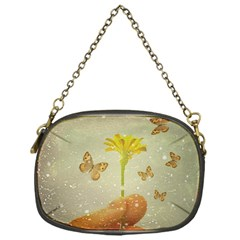 Butterflies Charmer Chain Purse (one Side)