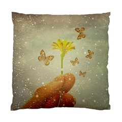 Butterflies Charmer Cushion Case (Two Sided)