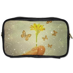 Butterflies Charmer Travel Toiletry Bag (Two Sides)