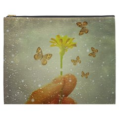 Butterflies Charmer Cosmetic Bag (XXXL)